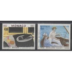 Monaco - 1982 - No 1347/1348 - Peinture