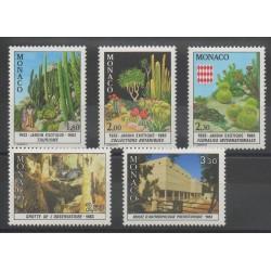 Monaco - 1983 - No 1360/1364 - Flore