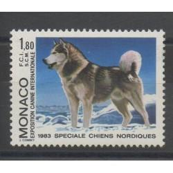 Monaco - 1983 - Nb 1367 - Dogs