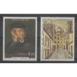 Monaco - 1983 - No 1391/1392 - Peinture