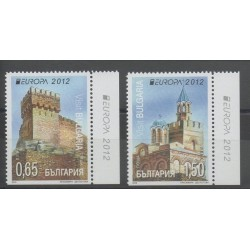Bulgarie - 2012 - No 4310a/4311a - Monuments