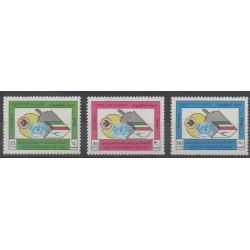 Kowaït - 1984 - No 1022/1024 - Aviation