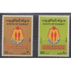 Kowaït - 1985 - No 1054/1055