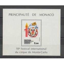 Monaco - 1984 - Nb BF 29 - Circus