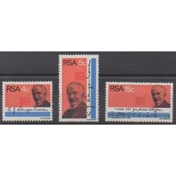 Afrique du Sud - 1973 - No 347/349 - Littérature