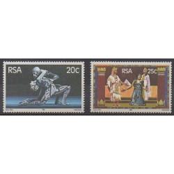 Afrique du Sud - 1981 - No 488/489 - Musique