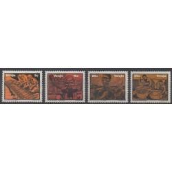 Afrique du Sud - Venda - 1981 - No 50/53 - Musique