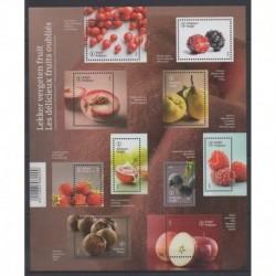 Belgium - 2015 - Nb 4508/4517 - Fruits or vegetables