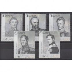 Belgium - 2015 - Nb 4503/4507 - Napoleon - Military history