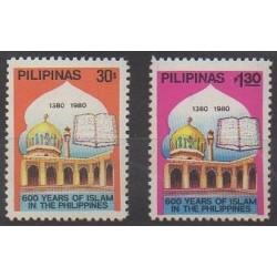 Philippines - 1980 - Nb 1186/1187 - Religion