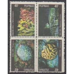 Philippines - 1981 - Nb 1240/1243 - Sea life