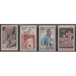Dahomey - 1966 - Nb 235/238 - Art