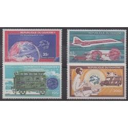 Dahomey - 1974 - Nb PA215/PA218 - Postal Service