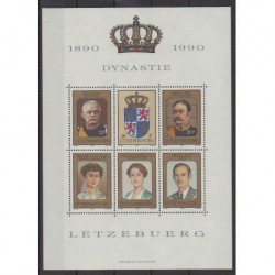 Luxembourg - 1990 - Nb BF16 - Royalty