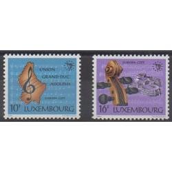 Luxembourg - 1985 - Nb 1075/1076 - Music - Europa