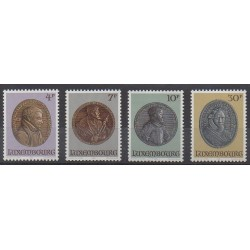 Luxembourg - 1985 - Nb 1067/1070 - Coins, Banknotes Or Medals