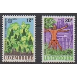 Luxembourg - 1986 - Nb 1101/1102 - Environment - Europa