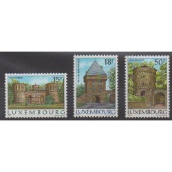 Luxembourg - 1986 - Nb 1103/1105 - Monuments