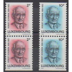 Luxembourg - 1986 - Nb 1106/1107 - Celebrities