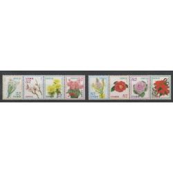 Japon - 2014 - No 6836/6843 - Fleurs