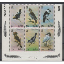 Belize - 1980 - Nb 481/486 - Birds