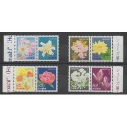 Japon - 2014 - No 6516/6523 - Fleurs