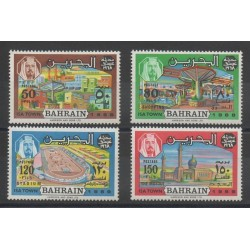 Bahrain - 1969 - Nb 161/164 - Monuments