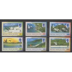 Vierges (Iles) - 2002 - No 965/970 - Oiseaux