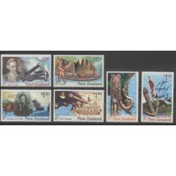Nouvelle-Zélande - 1997 - No 1512/1517 - Bateaux
