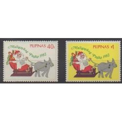 Philippines - 1982 - Nb 1300E/1300F - Christmas