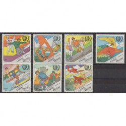 Guinea-Bissau - 1985 - Nb 384/390 - Various sports