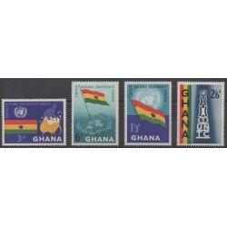 Ghana - 1959 - Nb 60/63 - United Nations