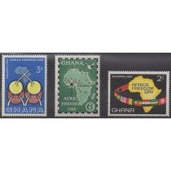 Ghana - 1961 - Nb 85/87