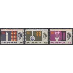 Ascension Island - 1967 - Nb 113/115 - United Nations