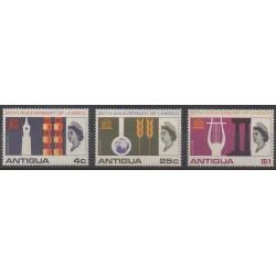 Antigua - 1966 - Nb 174/176 - United Nations