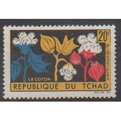 Chad - 1964 - Nb 99 - Flowers