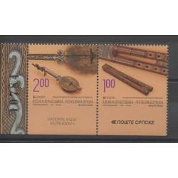 Bosnie-Herzégovine République Serbe - 2014 - No 576a/577a - Musique