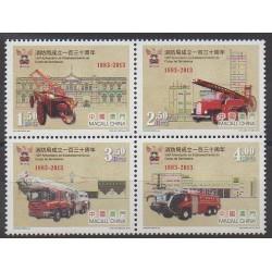 Macao - 2013 - Nb 1627/1630 - Firemen
