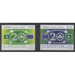 Macao - 2013 - Nb 1661/1662 - Europe