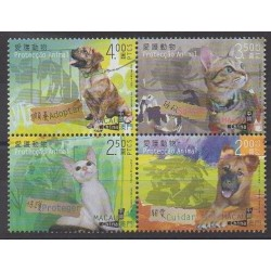 Macao - 2014 - Nb 1676/1679 - Dogs - Cats