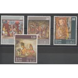 Sri Lanka - 1973 - No 451/454 - Peinture