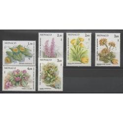 Monaco - 1985 - No 1461/1466 - Flowers