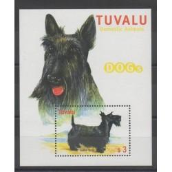 Tuvalu - 2000 - No BF 78A - Chiens