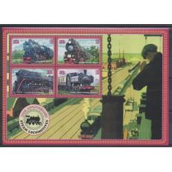 Liberia - 2004 - No 4211/4214 - Trains