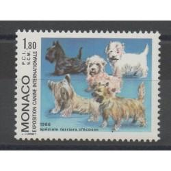 Monaco - 1986 - No 1530 - Dogs