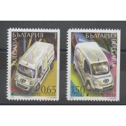 Bulgarie - 2013 - No 4351a/4352a - Voitures