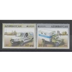 Azerbaïdjan - 2013 - No 827a/828a - Voitures