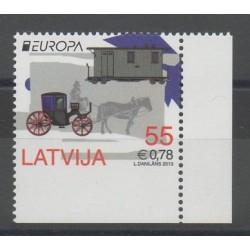 Lettonie - 2013 - No 835b - Voitures