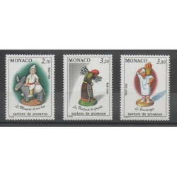 Monaco - 1990 - No 1743/1745 - Noël