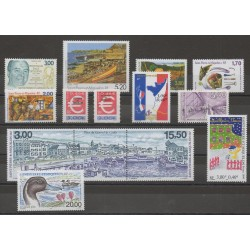 Saint-Pierre et Miquelon - Complete year - Complete year - 1999 - Nb 686/705 - BF 6/BF 7 - PA 79